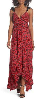 Adelyn Rae Isabel Floral Maxi Dress