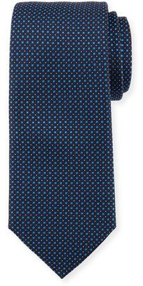 BOSS Neat Silk Tie, Navy $95 thestylecure.com