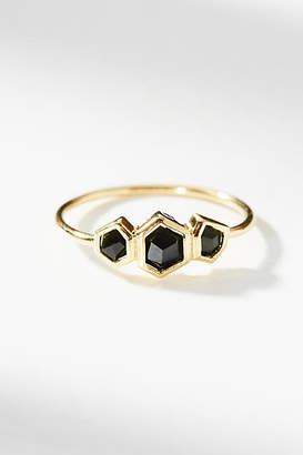 Anthropologie Honeycomb Ring