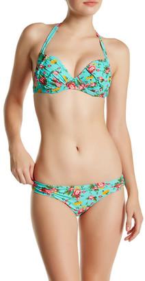 Betsey Johnson Floral Cheeky Hipster Bikini Bottom $54 thestylecure.com