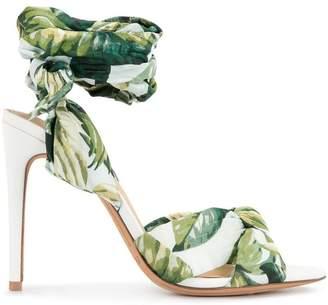Alexandre Birman botanical print sandals