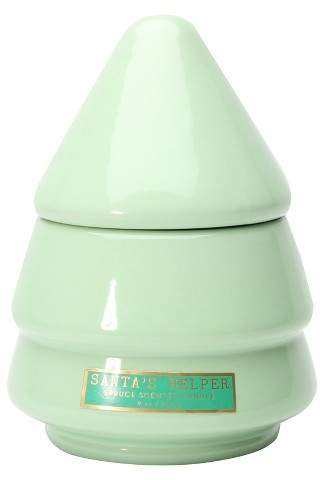 Ceramic Tree Candle Spruce 9oz