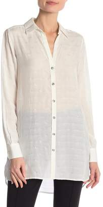 Foxcroft Metallic Dot Shirt