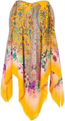 Etro patterned poncho