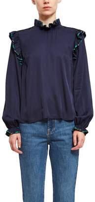 Opening Ceremony Twill Blouse