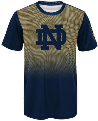 NCAA Kohl's Boys 8-20 Notre Dame Fighting Irish Bitmapped Dri-Tek Tee