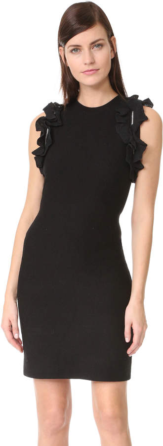 3.1 Phillip Lim 3.1 Phillip Lim Solid Ruffle Tank Dress