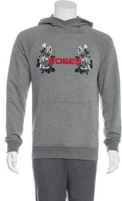 Christian Dior Roses Woven Hoodie grey Roses Woven Hoodie