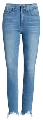 Paige Transcend Vintage - Hoxton High Waist Ripped Ankle Skinny Jeans