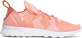 adidas Zx Flux Adv Virtue Pk Stretch-knit Sneakers