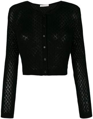 Stefano Mortari fine knit cropped cardigan
