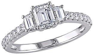 Affinity Diamond Jewelry Affinity 14K Gold 1.25 cttw Emerald-Cut Diamond
