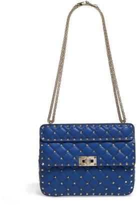 Valentino Medium Leather Rockstud Spike Shoulder Bag