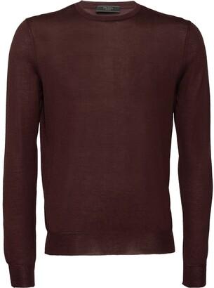 Prada crew-neck cashmere jumper