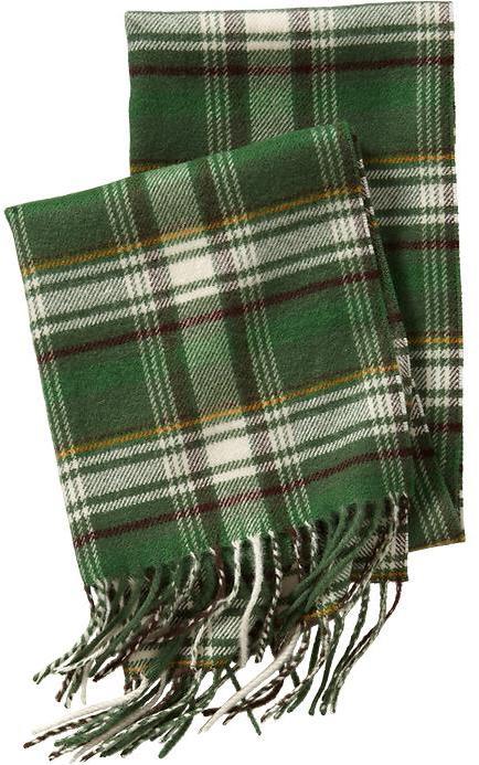 Old Navy Men's Plaid Flannel Scarves