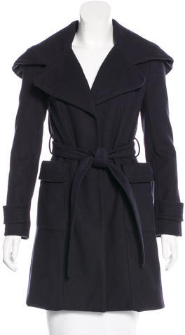 Tory BurchTory Burch Wool Knee-Length Coat