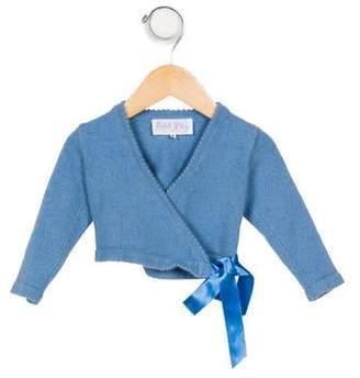Rachel Riley Girls' Cashmere Knit Cardigan