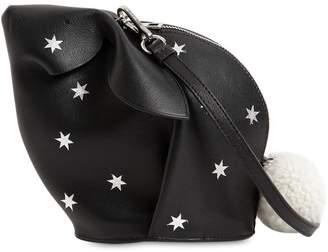 Loewe Bunny Leather Shoulder Bag W/ Stars