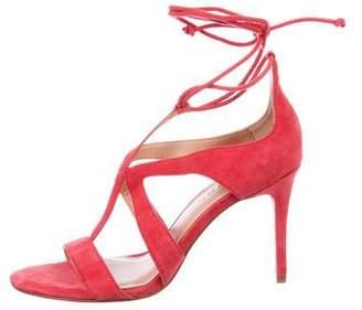 a64f1ae7c28c31 Halston Suede Women s Sandals - ShopStyle