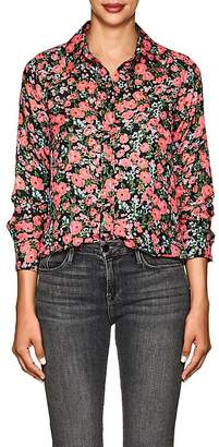 Marc Jacobs Women's Floral Crepe Blouse
