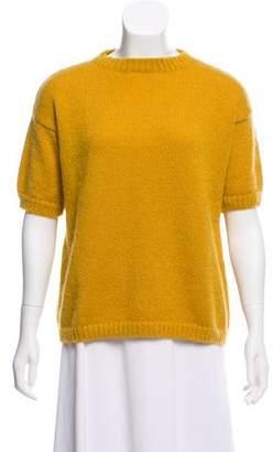 Mansur Gavriel Mohair Short Sleeve Sweater w/ Tags