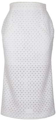 JIRI KALFAR - White Pencil Skirt