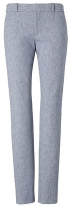 Banana Republic Sloan Skinny-Fit Texture Ankle Pant