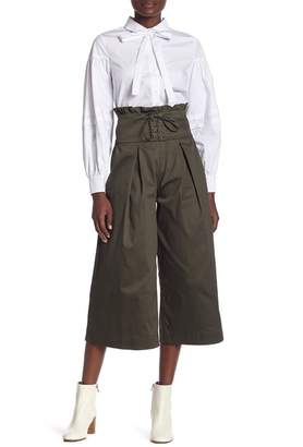 ENGLISH FACTORY Pleated Pants With Corset
