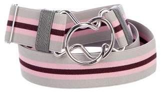 Prada Elastic Clasp Belt
