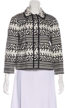 Tory Burch Embroidered Lightweight Jacket