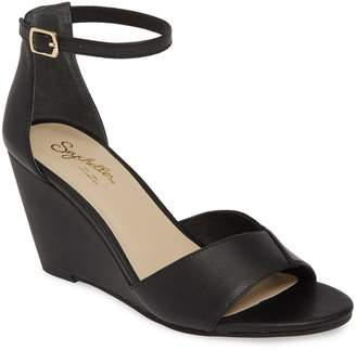 Seychelles Dual Purpose Wedge Ankle Strap Sandal