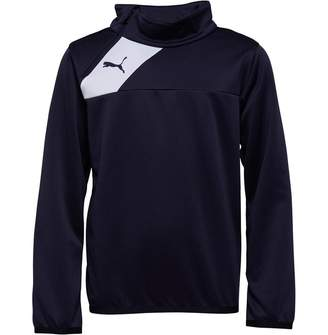 Puma Junior Boys Esquadra 1/2 Zip Training Top Navy/White