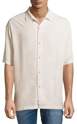 Tommy Bahama Aloha Silk Floral Button-Down Shirt