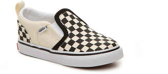 Vans Asher Checkers Infant & Toddler Slip-On Sneaker - Boy's