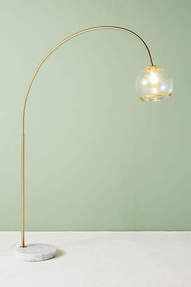 Anthropologie Arched Glass Floor Lamp