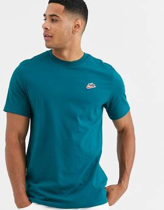 Nike Heritage t-shirt in teal