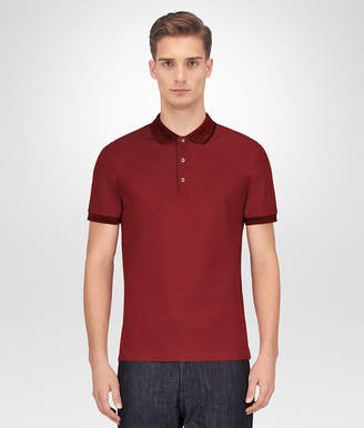 Bottega Veneta GIGOLO RED COTTON POLO
