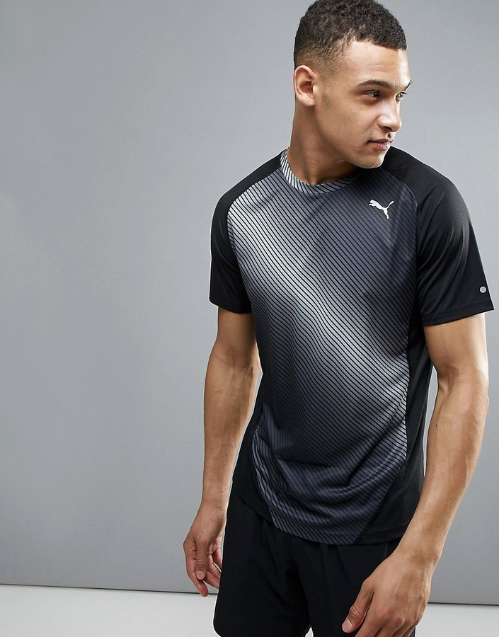 Puma Running Graphic T-Shirt In Black 51435201