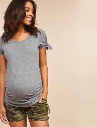 Motherhood Maternity Secret Fit Belly Cargo Maternity Shorts
