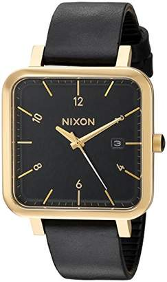 Nixon Men's 'Ragnar 36' Quartz Stainless Steel and Leather Watch