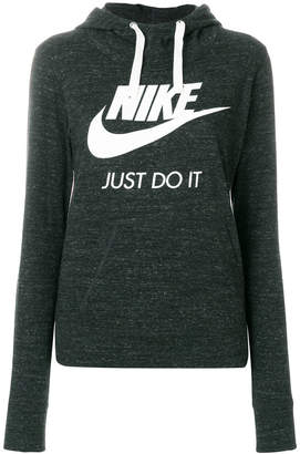 Nike printed logo hoodie