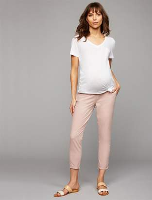 A Pea in the Pod Under Belly Chino Maternity Jogger Pants