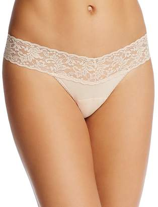 Hanky Panky Petite Cotton with a Conscience® Low-Rise Thong