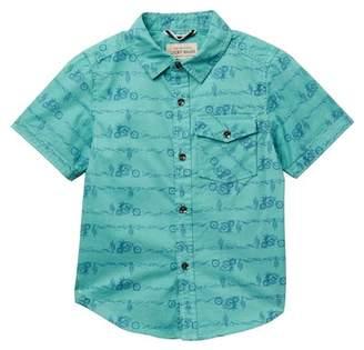 Lucky Brand Short Sleeve Print Shirt (Little Boys)