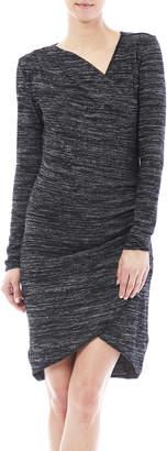 RD Style Wrap Knit Dress