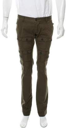 Dolce & Gabbana Flat Front Cargo Pants
