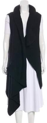 Ann Demeulemeester Asymmetrical Knit Vest w/ Tags