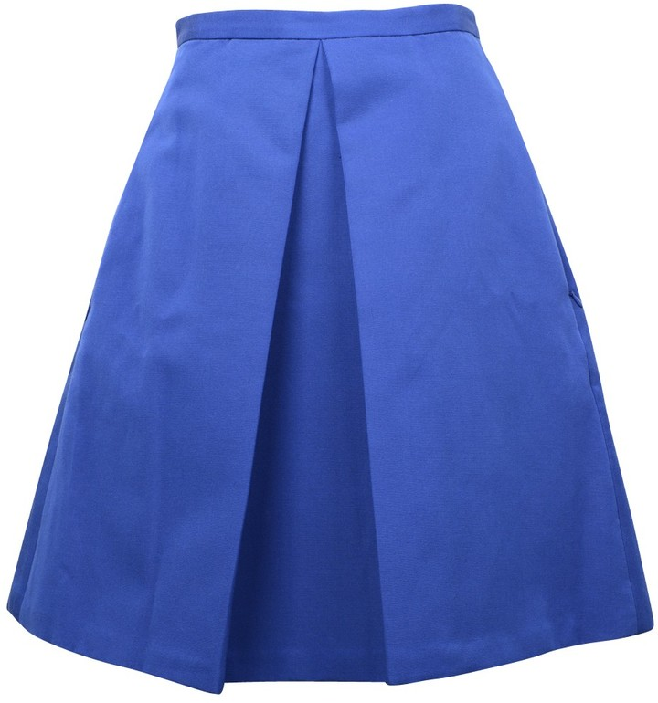 Tibi Katia Faille Full Skirt