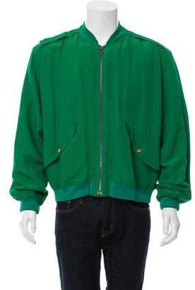 Giorgio Armani Casual Bomber Jacket