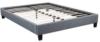 Uspridefurniture US Pride Gray Platform Bed Frame